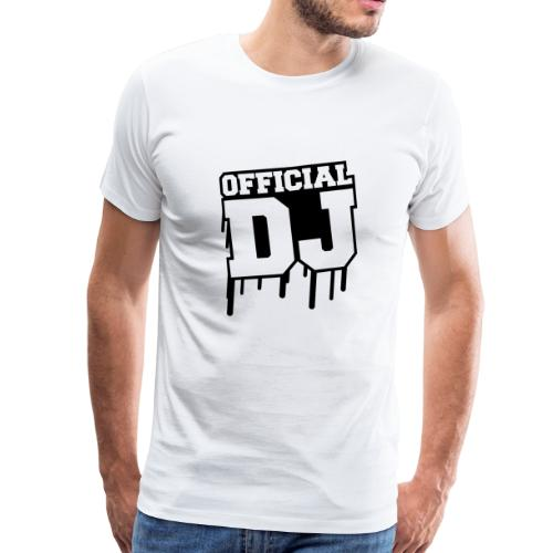 Official DJ - Männer Premium T-Shirt