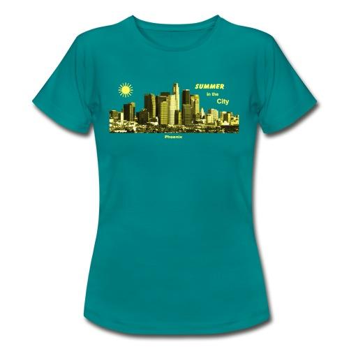 Phoenix Arizona Skyline T-Shirts - Frauen T-Shirt