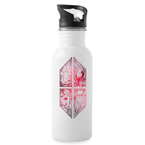 cthuthu ornament universe Tassen & Zubehör - Trinkflasche