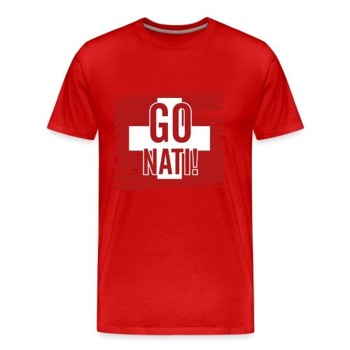 Go Nati - Männer Premium T-Shirt