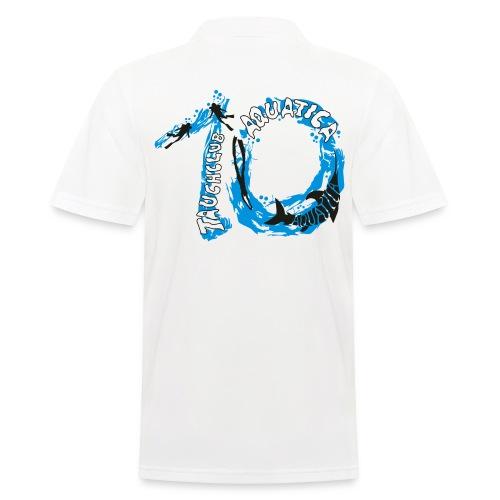 10 Jahre Aquatica Jubiläums-Poloshirt Herren - Männer Poloshirt