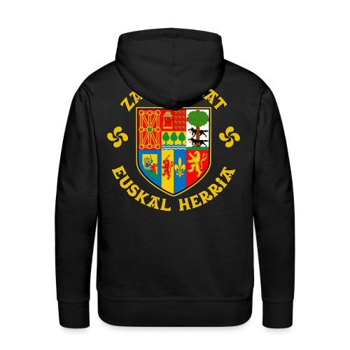 Zazpiak Bat - Sweat-shirt à capuche Premium pour hommes