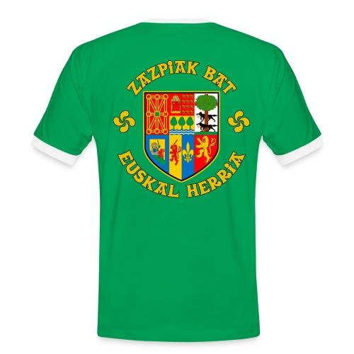 Zazpiak Bat - T-shirt contrasté Homme