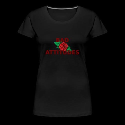bad attitude - Frauen Premium T-Shirt