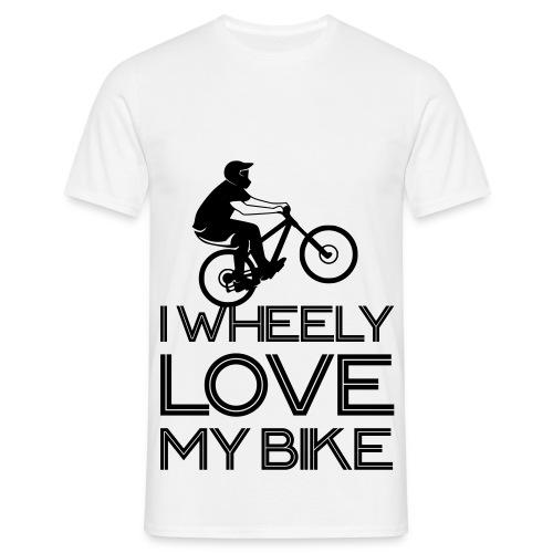 Wheelie Shirt Männer - Männer T-Shirt