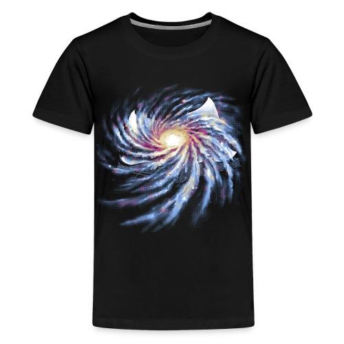 Spacetime Story Book - Teenage Premium T-Shirt