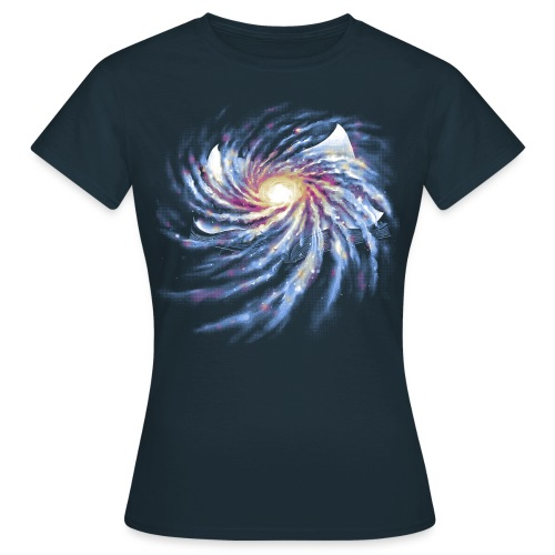 Spacetime Story Book - Women's T-Shirt