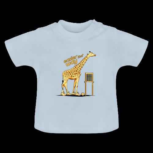 T-Shirt Bébé Girafe - T-shirt Bébé