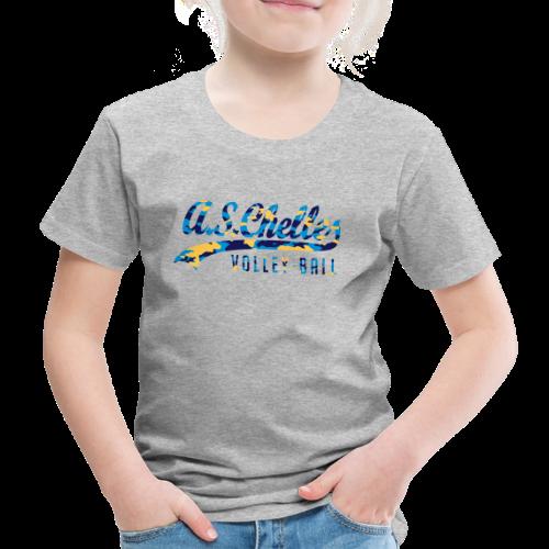 T-Shirt Enfant Camo Gris - T-shirt Premium Enfant