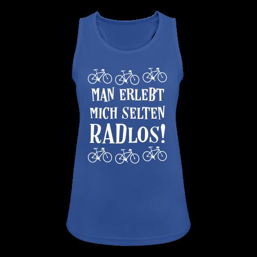 Coole Fahrrad Sprüche - Selten radlos - Tank Top - Frauen Tank Top atmungsaktiv