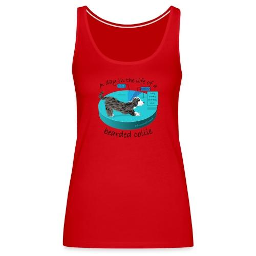 Day in life beardie custom - Women's Premium Tank Top
