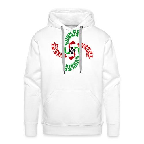 Croix Basque - Sweat-shirt à capuche Premium pour hommes
