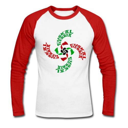 Croix Basque - T-shirt baseball manches longues Homme