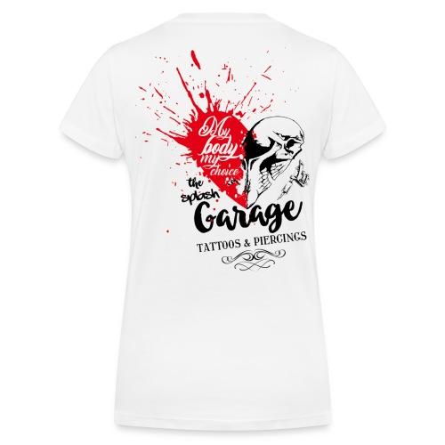 Splash woman v-neck - Frauen Bio-T-Shirt mit V-Ausschnitt von Stanley & Stella