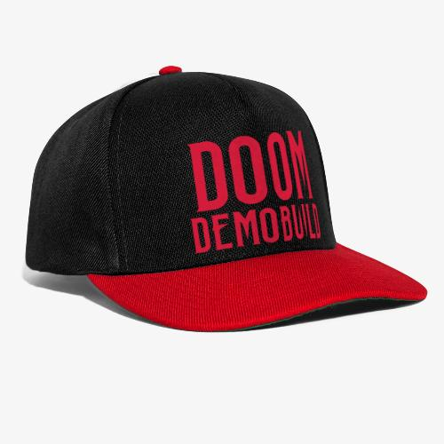 DooM Demobuild lätsä - Snapback Cap