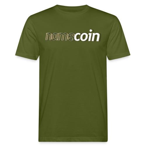 namecoin - Männer Bio-T-Shirt