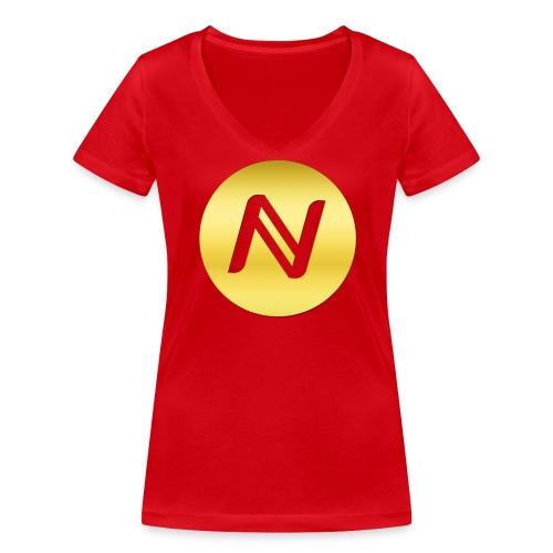 Namecoin - Frauen Bio-T-Shirt mit V-Ausschnitt von Stanley & Stella
