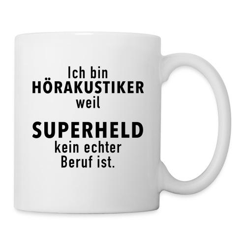 Superheld Hörakustiker - Tasse