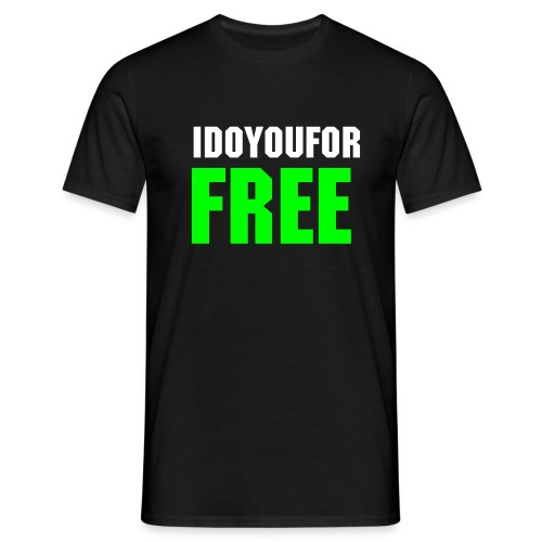 for free - Mannen T-shirt