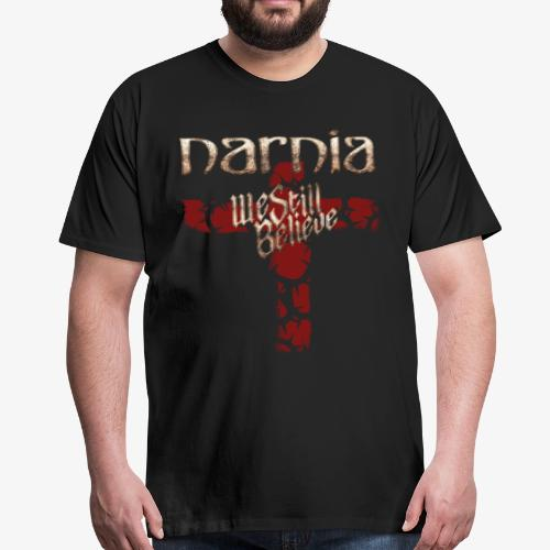 We Still Believe Cross T-shirt (Premium) - Men's Premium T-Shirt