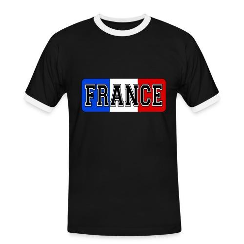 France tricolore - T-shirt contrasté Homme