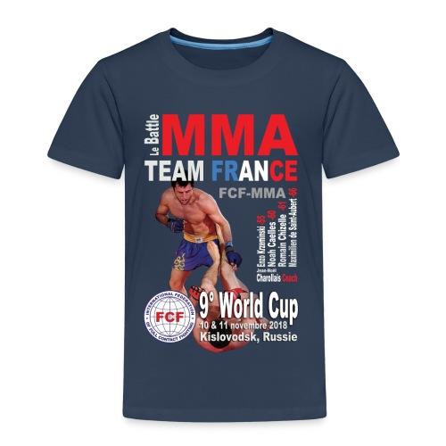 Tee-shirt World Cup 2018 marine enfants - T-shirt Premium Enfant