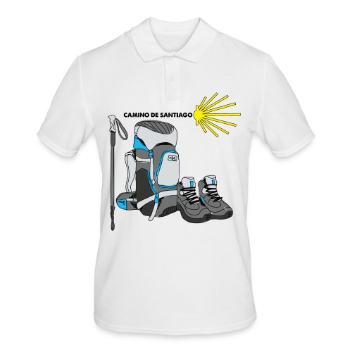 Camino Hiker Tee - Men's Polo Shirt
