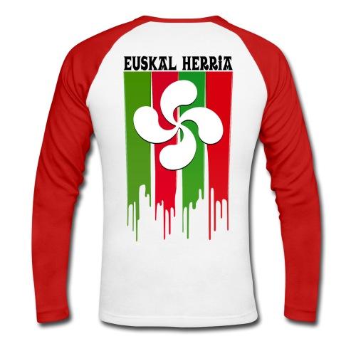 Logo Pays Basque - T-shirt baseball manches longues Homme