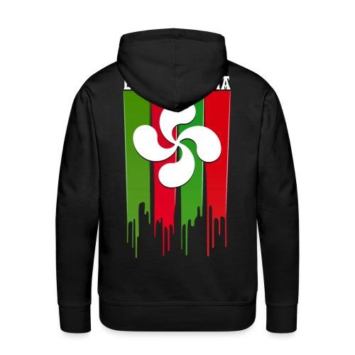 Logo Pays Basque - Sweat-shirt à capuche Premium pour hommes