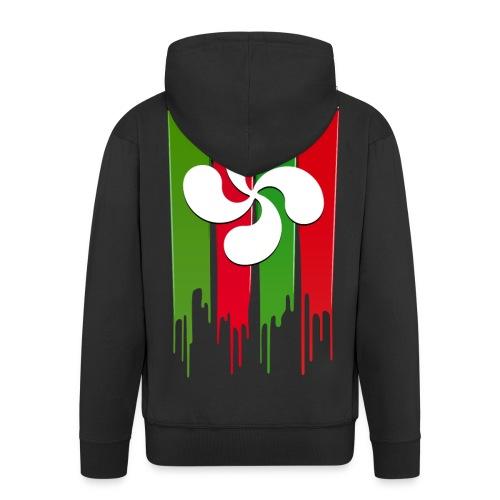 Logo Pays Basque - Veste à capuche Premium Homme