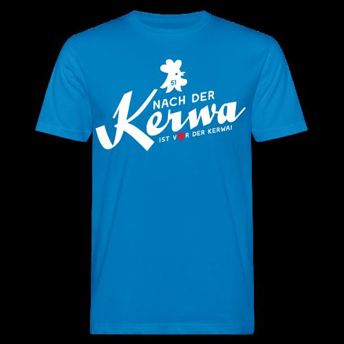 Vor der Kerwa ist nach der Kerwa - Herren BIO T-Shirt - 100% Baumwolle - #BAM!berg - Männer Bio-T-Shirt
