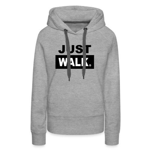 Dames Hoodie in lichtgrijs - Vrouwen Premium hoodie