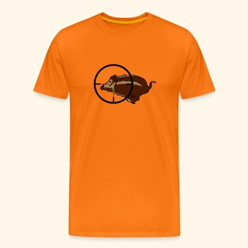 rennendes Wildschwein - Männer Premium T-Shirt