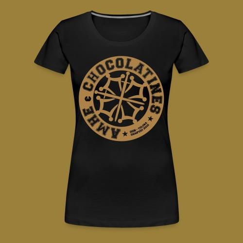 Girly Chocolatine - T-shirt Premium Femme