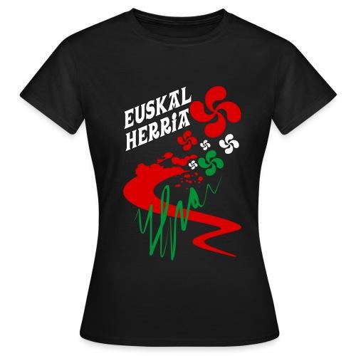 Pays Basque - T-shirt Femme