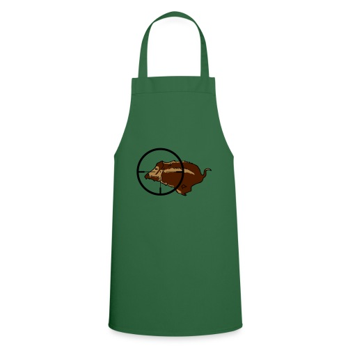 Wildschwein Keiler - Kochschürze