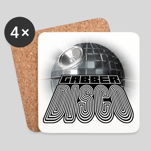 Gabberdisco Untersetzer - Coasters (set of 4)