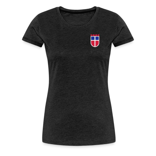 Saarland, Sarre-Wappen – Farbe wählbar! - Frauen Premium T-Shirt