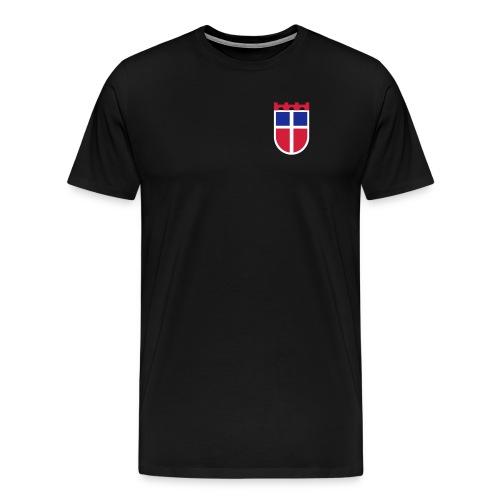 Saarland, Sarre-Wappen – Farbe wählbar! - Männer Premium T-Shirt