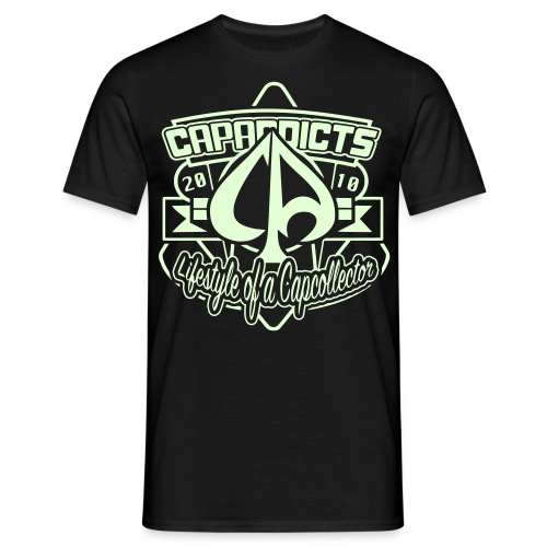 Capaddicts 2010 (Glow) - Männer T-Shirt