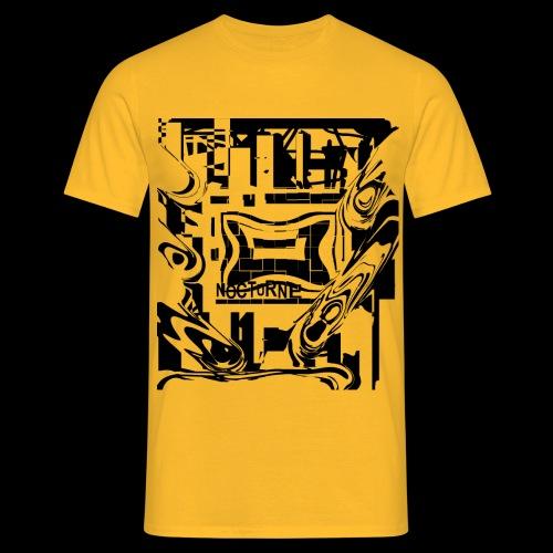 NOCTURNE  t-shirt taglio classico - Uomo - 100%cotone - Maglietta da uomo