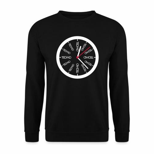 Uhr Techno All Time - Pullover - Männer Pullover