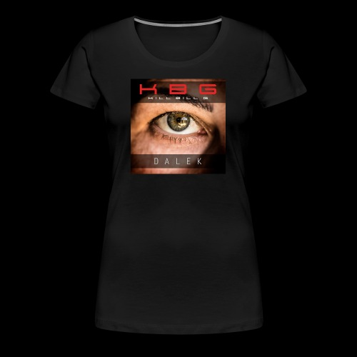 Camiseta Femenina DALEK - Camiseta premium mujer