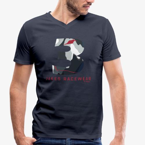 JAKES 3 - Økologisk Stanley & Stella T-shirt med V-udskæring til herrer