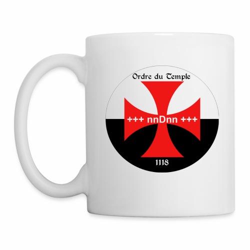 Mug Officiel Ordre du Temple 1118 - Mug blanc