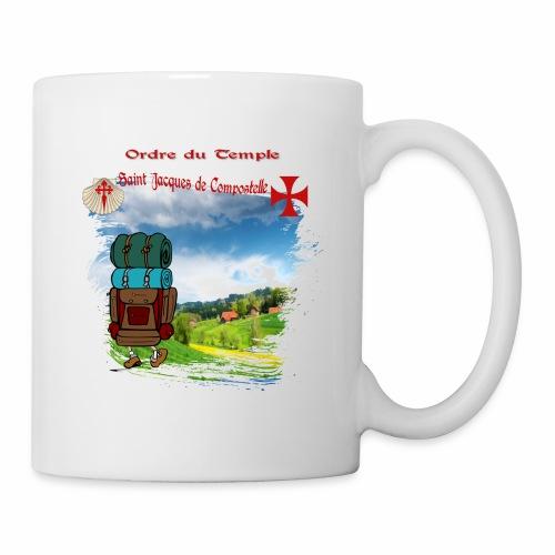 Mug Officiel Saint-Jacques-de-Compostelle - Mug blanc