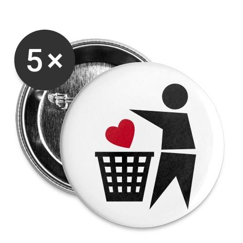 buttons - Liten pin 25 mm (5-er pakke)