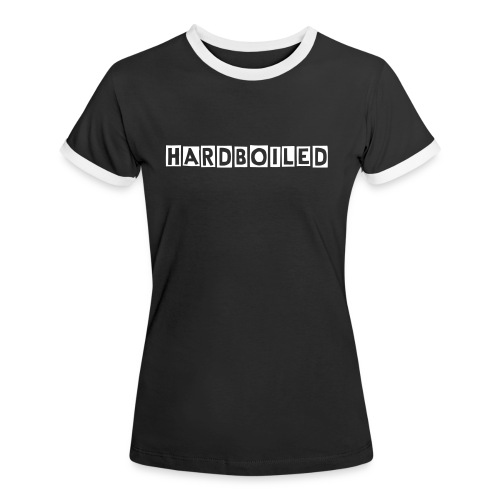 Hardboiled Women Shirt - Frauen Kontrast-T-Shirt