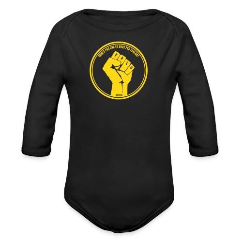 Kalu for babies - Organic Longsleeve Baby Bodysuit