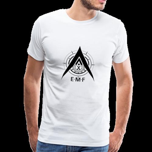 Men Premium T-Shirt - EMF Logo Black - Men's Premium T-Shirt